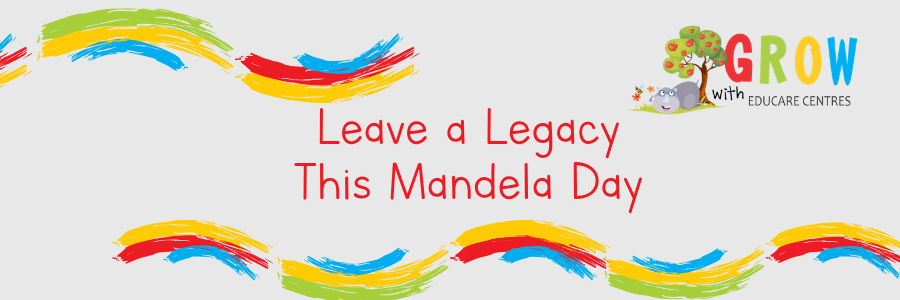 5 ideas: Volunteer or donate to leave a legacy this Mandela Day 2019