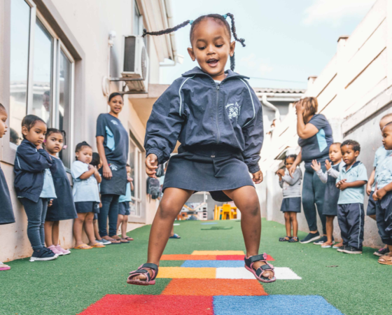 5-Star Upgrades for three top-performing Educare Centres in under-resourced neighbourhoods