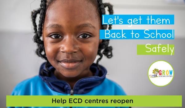 GROW Educare ECD reopening mandela day