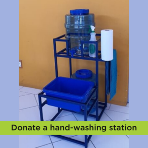 donate water fountain handwashing station