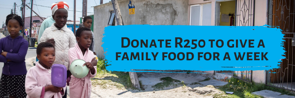 Donate Food parcel Hunger relief