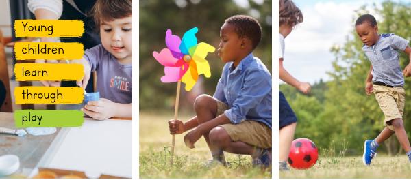 chidlren learn through play
