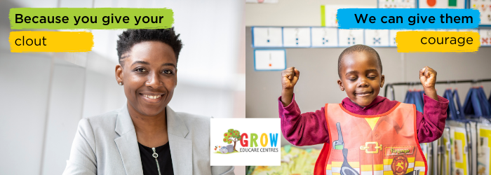 Giving Tuesday south africa grow educare centres