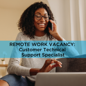 Job vacancy customer technical support specialist