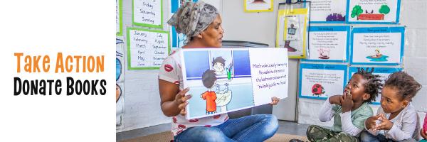 Take Action - Donate Books