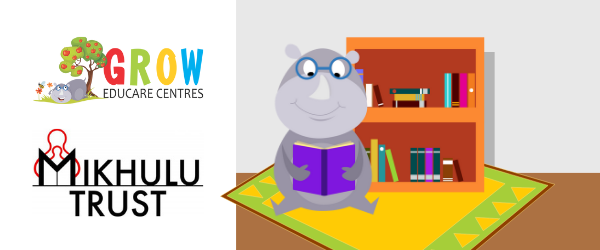 GROW Educare Centres and Mikhulu Trust partnership for wordless reading books
